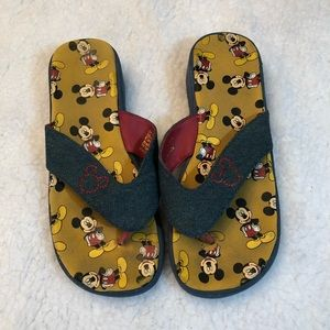 MICKEY MOUSE Thong Style Sandals 7-8